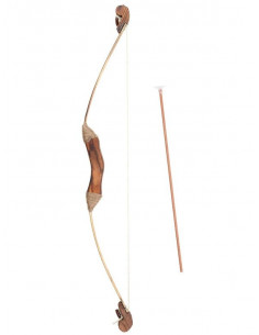 Arco lujo madera con flechas