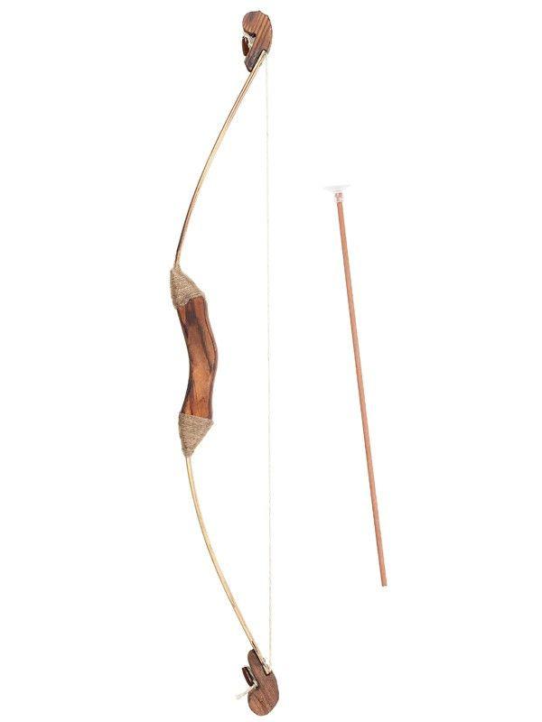 Arco lujo madera con flechas comprar en tienda disfraces - Maderas para arcos ...