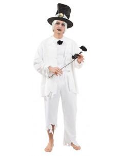 Disfraz de novio cadaver