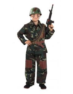 Disfraz comando infantil