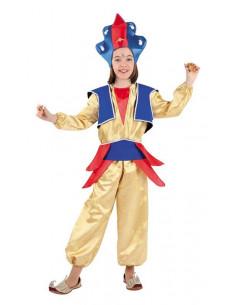 Disfraz de tailandesa para niña