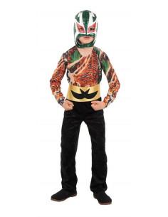 Disfraz luchador mejicano infantil