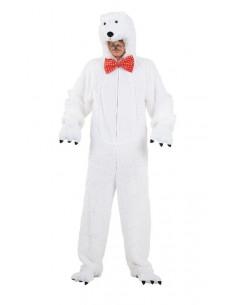 Disfraz oso polar niño