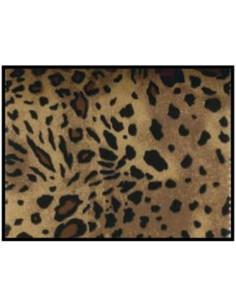 Tejido strech leopardo