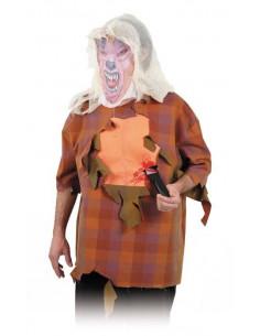 Camisa con cuchillo para halloween