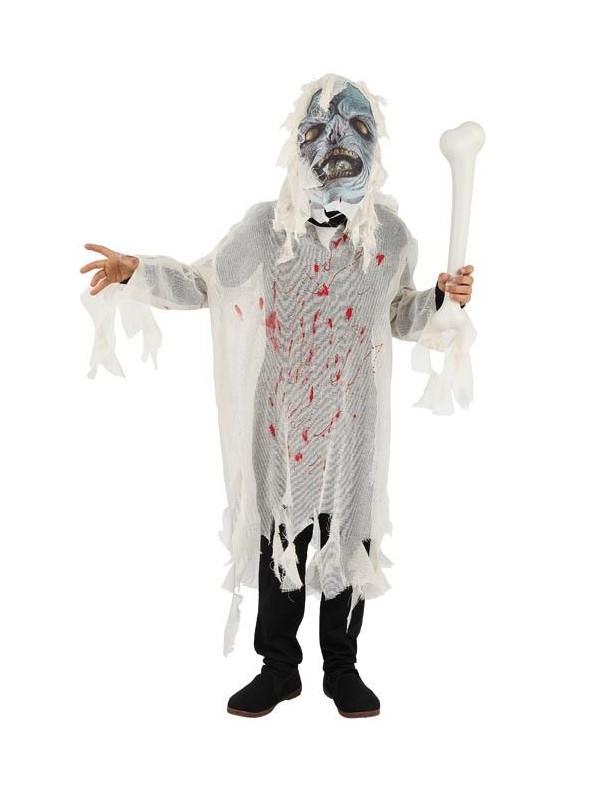 Disfraces de zombis sangriento infantil