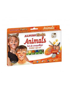 Set maquillaje animals 6 colores surtidos