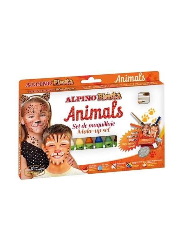 Set maquillaje animals 6 colores surtidos