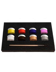 Conjunto maquillaje líquido 8 colores