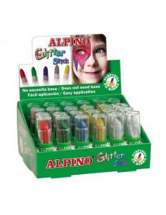 Maquillaje glitter escarcha brillante