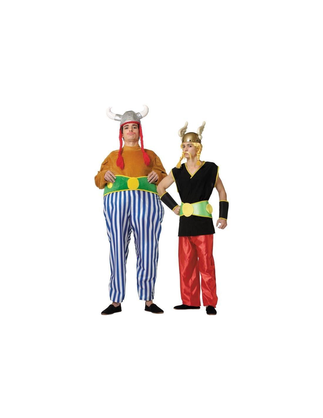 Disfraz en pareja de Astérix y Obélix
