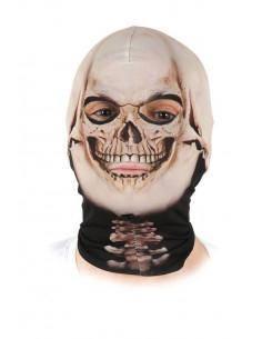 Mascara licra esqueleto
