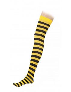 Medias amarillas y negras
