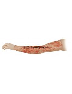 Brazo cicatriz estampado licra