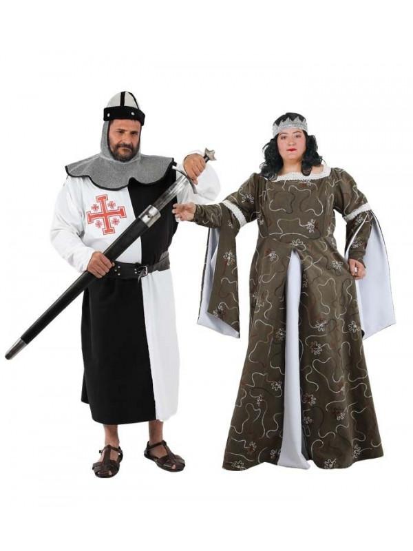 Disfraces de Medievales talla XXL