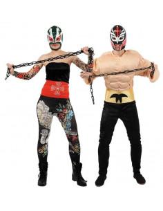 Disfraces de Luchadores Mejicanos para Parejas
