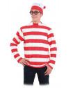 Disfraz Wally, camiseta y gorro