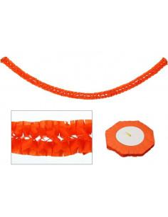 Guirnalda halloween naranja