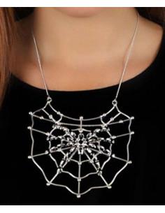 Colgante tela araña metalico