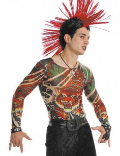 Camisetas de tatuajes tigre