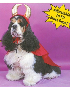 Disfraz de Demonio para perros y gatos