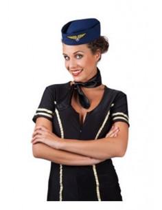 Gorro azafata de vuelo