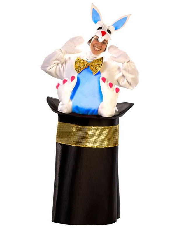 Disfraz de conejo con chistera