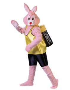 Disfraz de conejo con pila