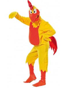 Disfraz de pollo kirikí