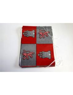 Banderas de Castilla y León papel