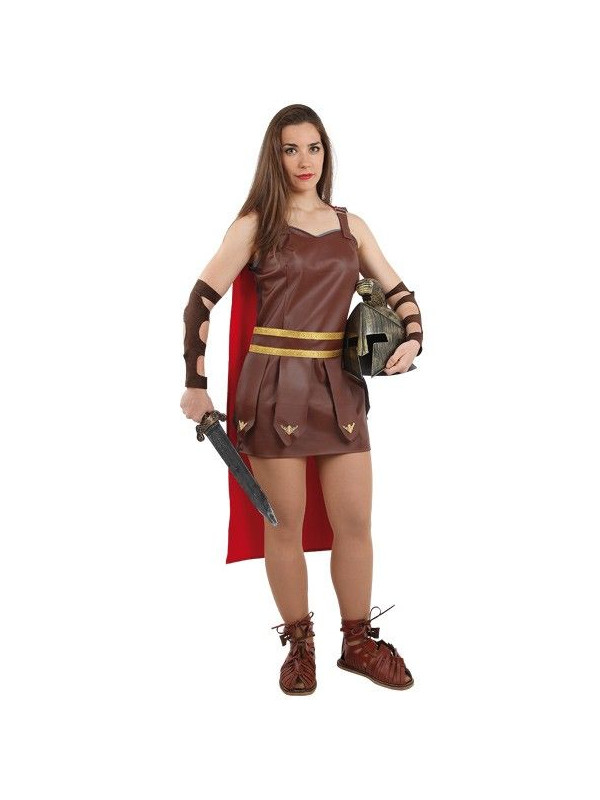 Disfraz de romana gladiadora mujer