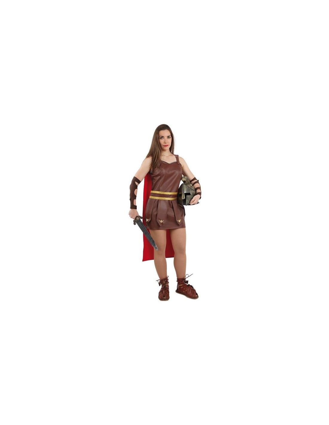49fa1967d8 Disfraz de romana gladiadora mujer - Comprar en Tienda Disfraces Bacanal