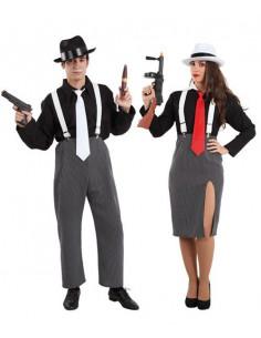 Disfraces de Ganster para parejas
