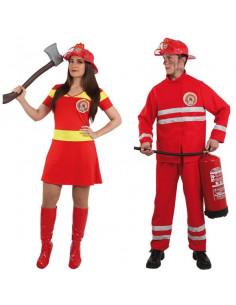 Disfraces de bomberos para parejas