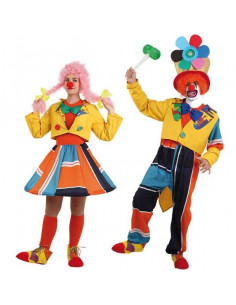 Disfraces de payasos para parejas