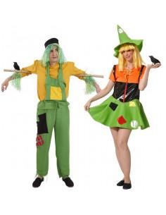 Disfraz de espantapajaros para parejas