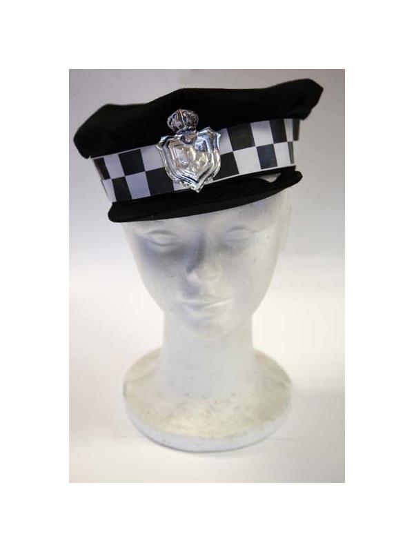 Gorra de policía infantil