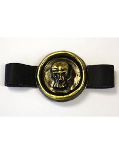 Cinturón de calavera pirata