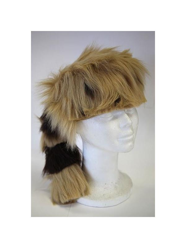 oficial de ventas calientes de calidad superior Código promocional Sombrero mapache