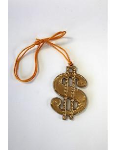 Colgante símbolo dollar