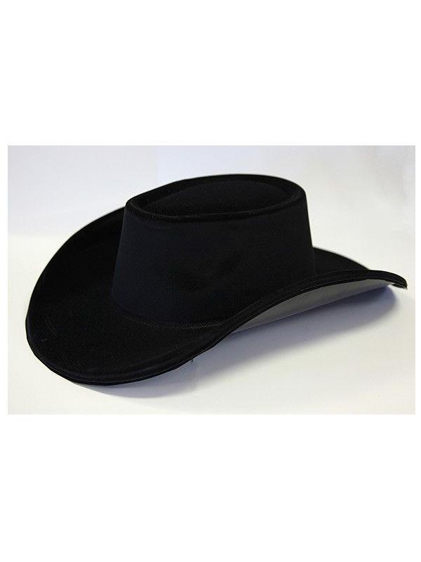 656a2e213f5a3 Sombrero vaquero negro - Comprar en Tienda Disfraces Bacanal
