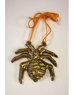Colgante Araña dorada
