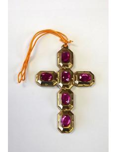 Colgante cruz barroca