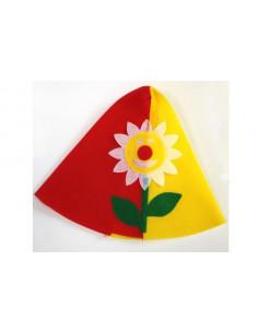 Sombrero de payaso flor