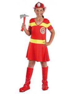 Disfraz bombera niña