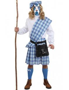 Disfraz de Braveheart escocés