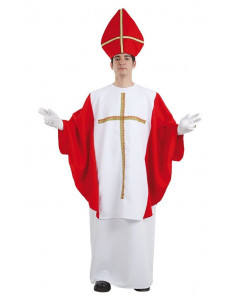 Disfraz de obispo hombre