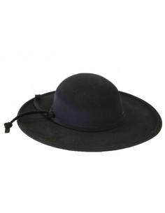 Sombrero de cura con cordón