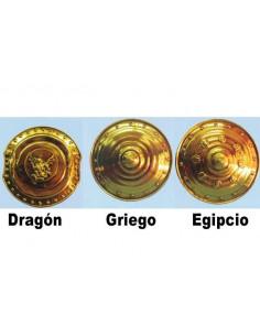 Escudos de guerreros redondos