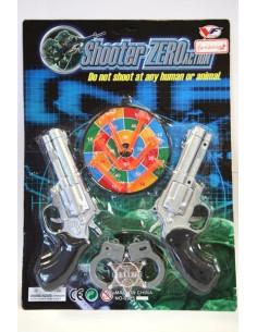 Pistolas con diana